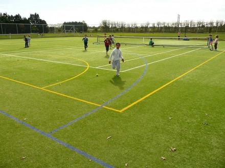 Tennis and multi sports turf